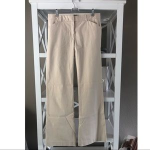 Like New Theory Trouser – Khaki/White sz 8